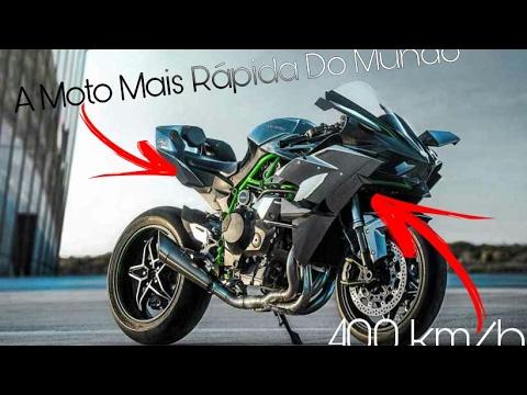 moto kawasaki mais rapida do mundo