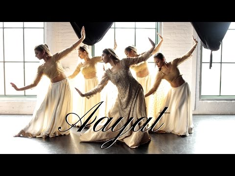 Aayat Dance | Bajirao Mastani | Indian Classical (Kathak) Contemporary Fusion Choreography