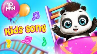 TutoTOONS Kids Songs - Panda Lu Fun Park (10 min) 🎠Sing Along & Dance Music for Children & Family