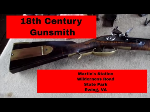 Flintlock Gunsmith at Martin