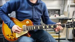 Europe files: Storm and Solo 59 'PAF' Pickups on a 2020 Gibson Les Paul R9 Historic