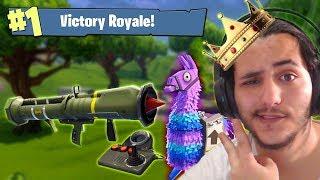 הנשק הכי שבור במשחק בפער!!! (האם ניצחתי?!) פורטנייט
