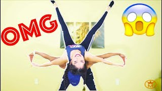 CRAZY YOGA CHALLENGE WITH GIRLFRIEND!!