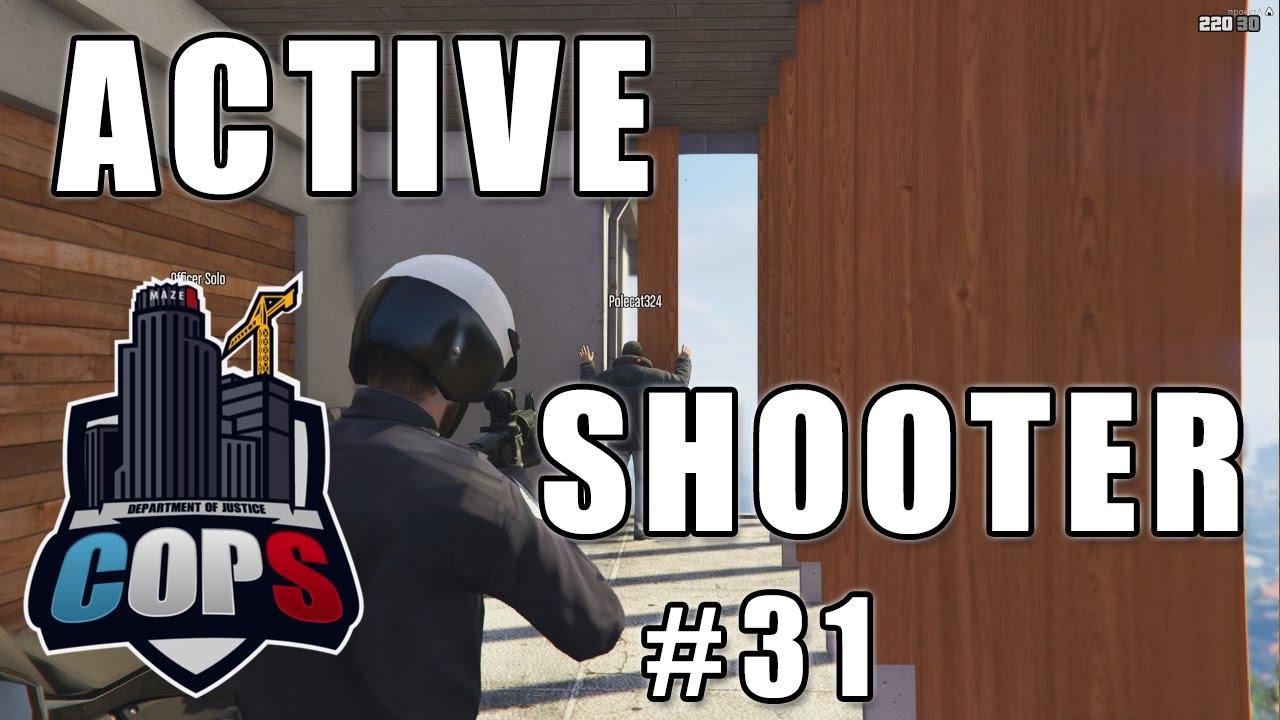 DOJ #31 - Active Shooter (feat  Polecat324, BayAreaBuggs and Jeff Favignano)