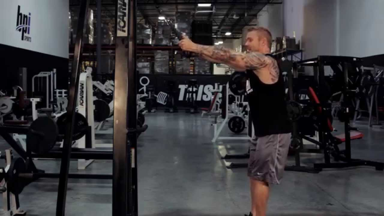 Low Cable Pull : Low cable pull the proper lift bpi sports youtube