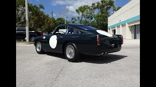 1961 Aston Martin DB4 GT Continuation # 2 of 25 & Engine Sound on My Car Story with Lou Costabile