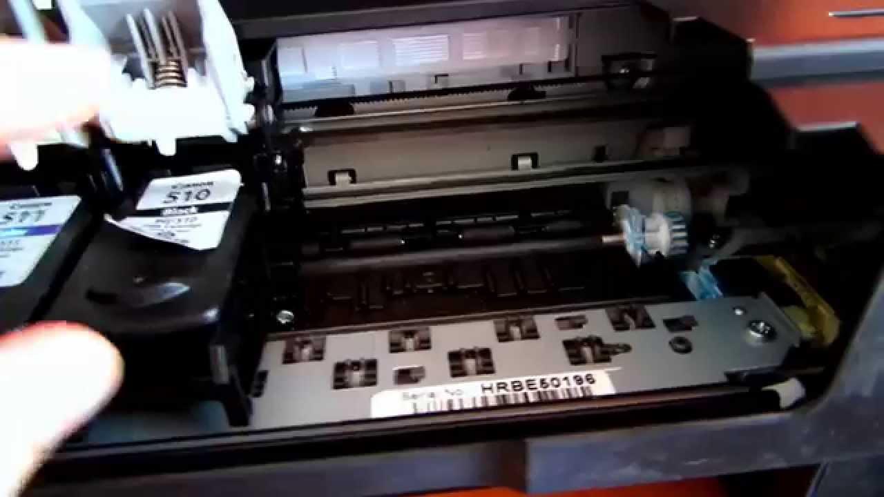 Как заправить картридж Canon 510, 511 (mp230, mp250, mp280) - YouTube