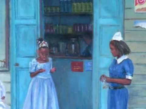 PAINTINGS OF ST  LUCIA