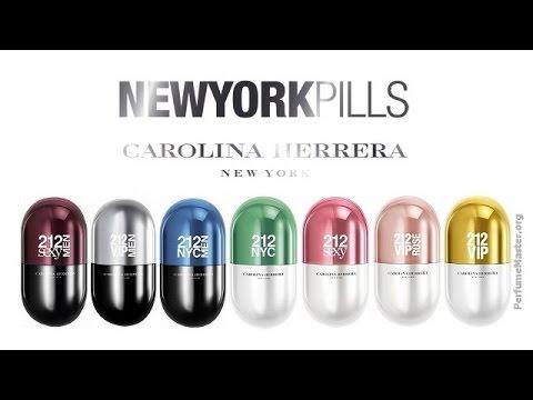Carolina Herrera - 212 New York Pills Perfume Collection - YouTube d525b0176d