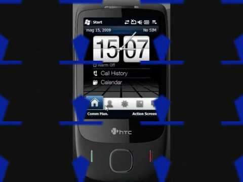 Video Capture ROM IoJade V3 6 WWE x HTC Touch 3G PocketPCItalia