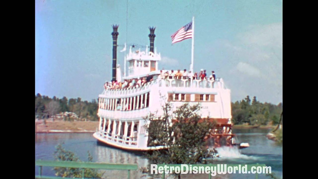 Walt Disney World - Magic Kingdom 1971 - Restored Home Movie