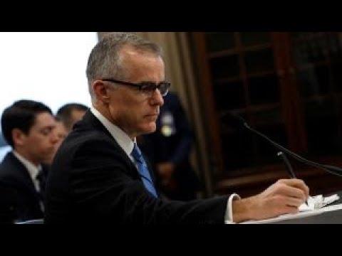McCabe postpones House intel interview due to 'scheduling error'