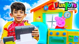 Jason Plays in a Restaurant, Funny Kids video