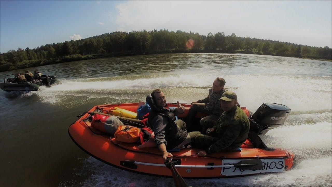 Надувная лодка Солар/Solar 420 Jet Тоннель - YouTube