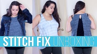 Stitch Fix Unboxing #8 ♥ Haul & Try On | Ellko