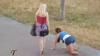 Самое прикольное видео с девушками под музыку Полюби меня такой какая я есть