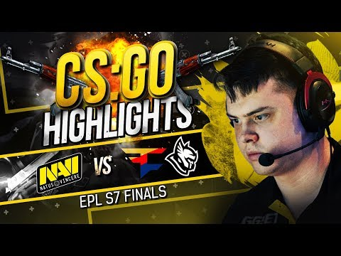 CSGO Highlights: NAVI vs FaZe, Heroic @ EPL S7 Finals