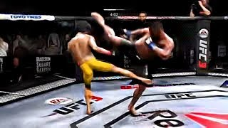 Bruce Lee vs. Daniel Cormier (EA Sports UFC 3) - K1 Rules