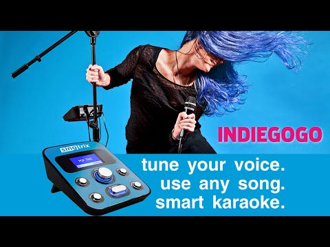 Smart Karaoke Launches on Indiegogo with Singtrix Party Bundle Stadium Edition