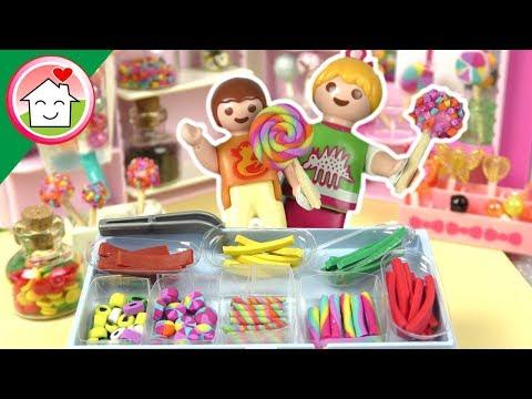 جنة و رؤى في محل الحلويات - عائلة عمر - جنه ورؤى