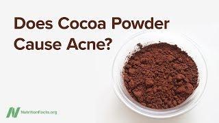 Způsobuje kakao akné?