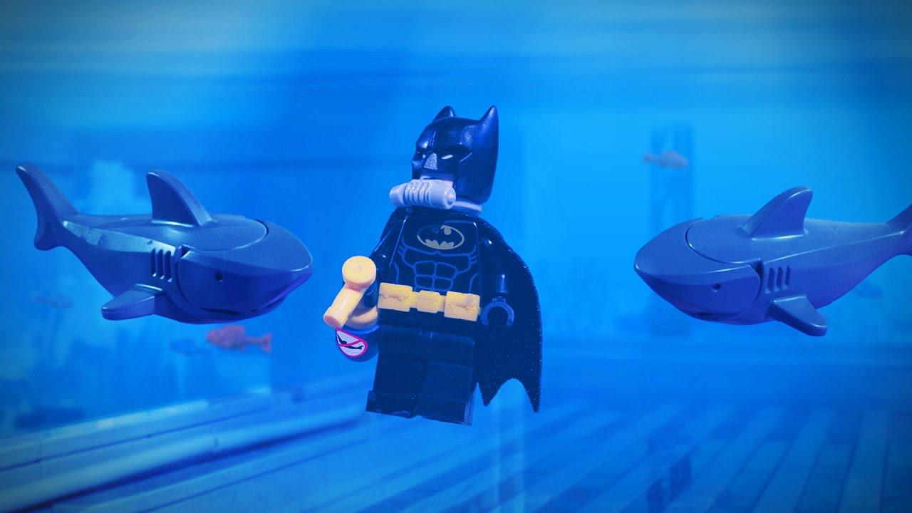Lego Batman - Shark Bait - YouTube