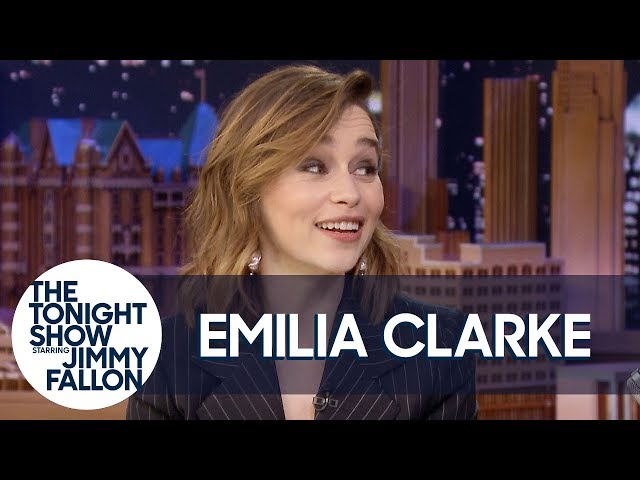 Emilia Clarke solves 'Game of Thrones' coffee cup mystery