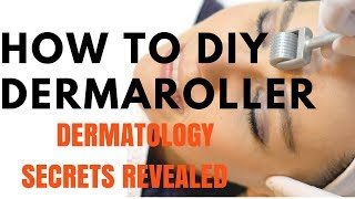 SKIN CARE TIPS- DIY Derma Roller
