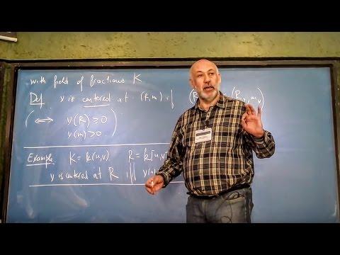 Singularities & valuations: interactions between geometry & commutative algebra 3 (Mark Spivakovsky)