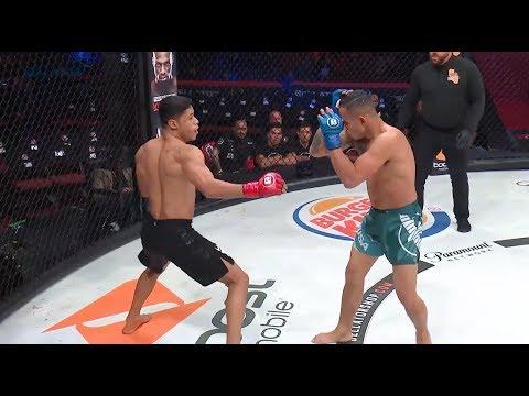 Bellator 214: Weber Almeida vs. Odan Chinchilla - TKO moment