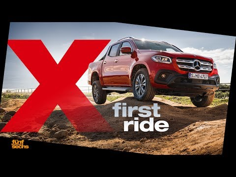 Mercedes X-Class First Ride & Interior Review (English Subtitles)