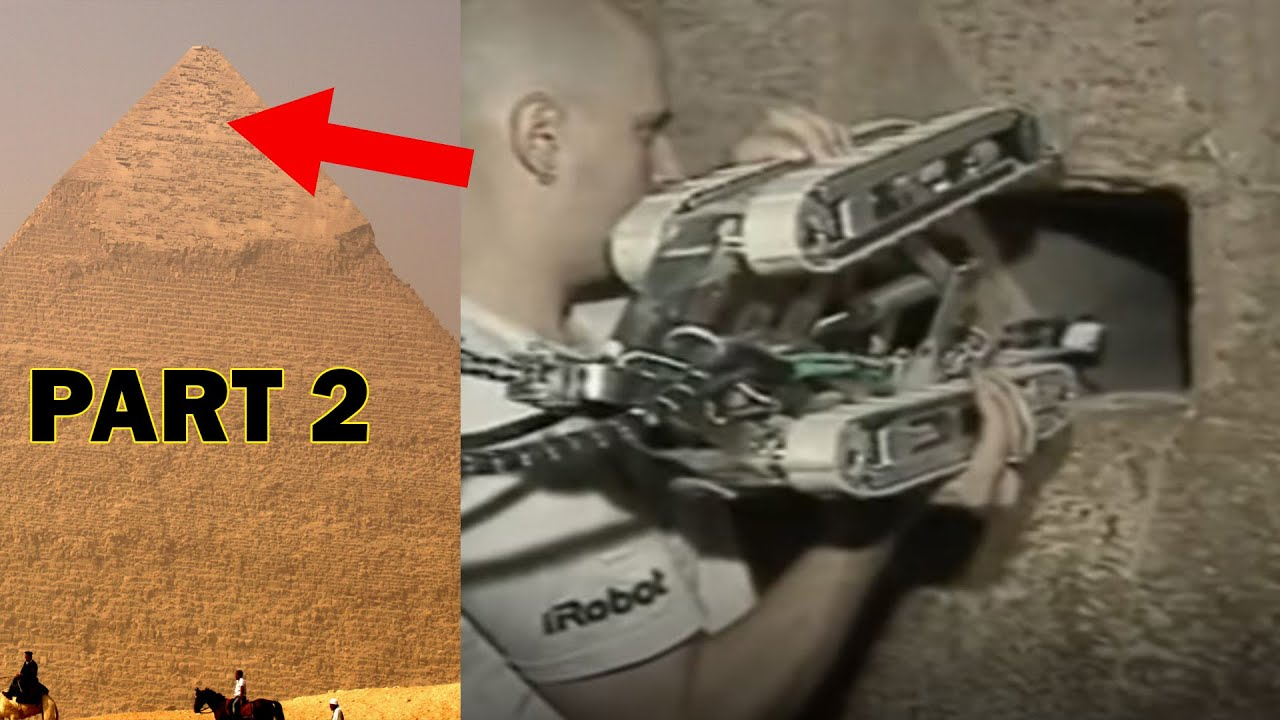 Download Amazing Discovery made by robotic Camera Inside Pyramids