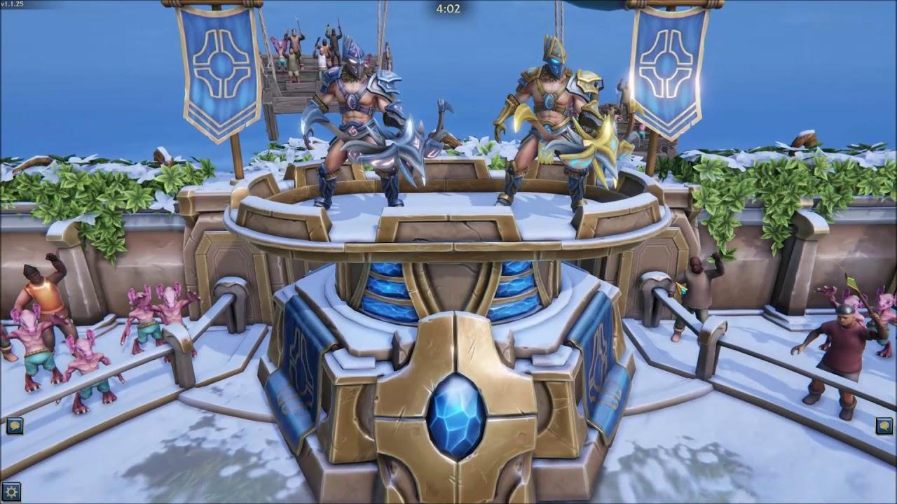 MaRud plays Minion Masters #4: 15lvl Team Battle