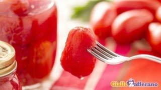 Whole peeled tomatoes - recipe