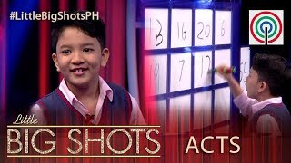 Little Big Shots Philippines: Joshua | 7-year-old Number Master