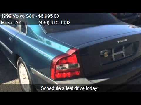1999 Volvo S80 T6 4dr Turbo Sedan For Sale In Mesa Az