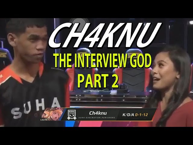 CH4KNU VS THE INTERVIEW NEW EDITION