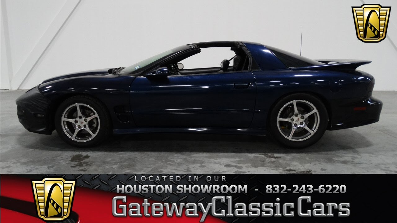 2000 pontiac firebird trans am ws6 houston texas youtube. Black Bedroom Furniture Sets. Home Design Ideas