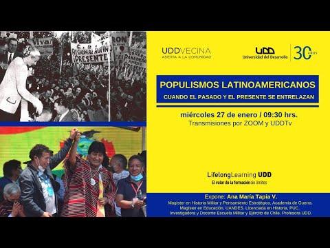 Populismos latinoamericanos: Cuando el pasado y el presente se entrelazan