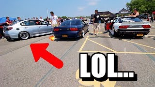 WRX Owner said he would WIN *GETS KNOCKED OUT*