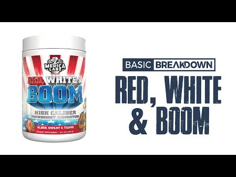 Merica Labz Red White & BOOM 2020 Pre-Workout Supplement Review | Basic Breakdown