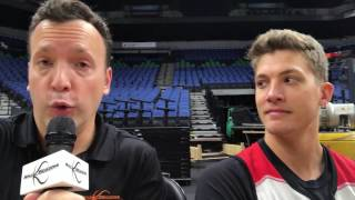 Trail Blazers Forward Meyers Leonard On Shooting And Defending
