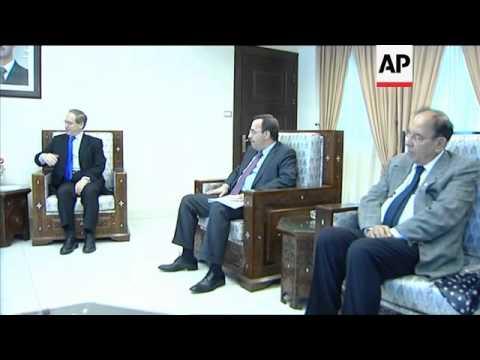 UN humanitarian chief Amos meets deputy FM al-Miqdad