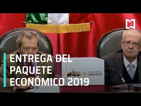 Gobierno federal entrega paquete económico 2019 a Cámara de Diputados - Despierta con Loret
