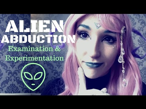 BITCHY ASMR - ALIEN ABDUCTION ~ Rude Alien Girl Experiments