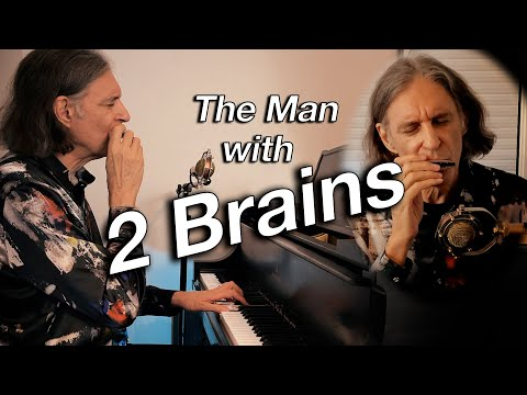 Autumn Leaves by the man with two brains | Jazz harmonica | Piano