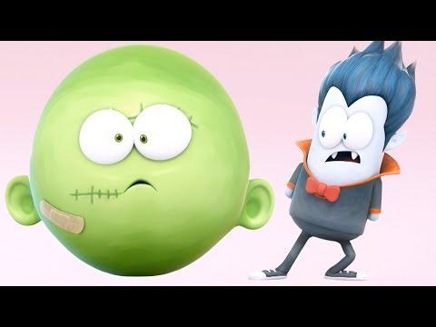 Funny Animated Cartoon | Spookiz Kong Kong's Balloon Head 스푸키즈 | Cartoon for Children