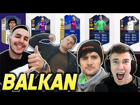 BALKANSKI YOUTUBERI MI BIRAJU DRAFT!! FIFA 18
