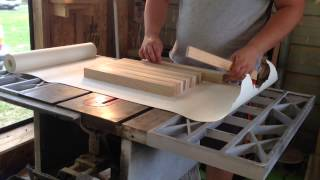 Making A Butcher Block Cutting Board
