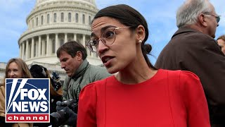 Ocasio-Cortez called out on 'Medicare for all' funding claim
